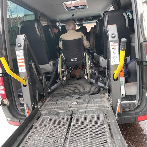 Перевозка инвалидов в Красногорске