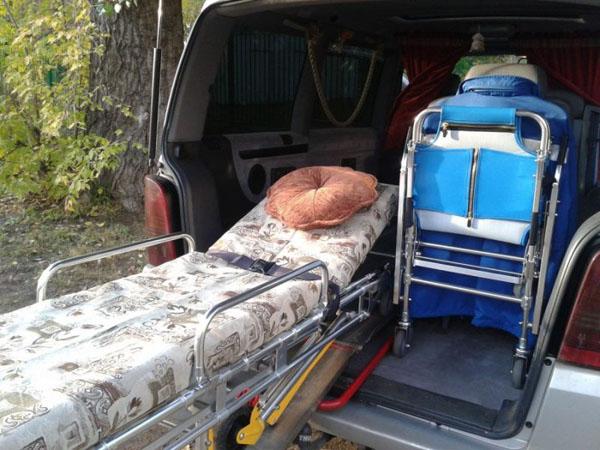 Транспортировка лежачих больных в Голицыно