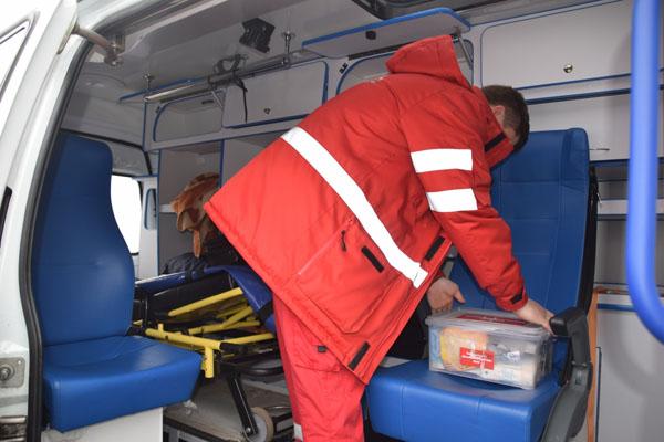 Медицинское такси в Белоозерском