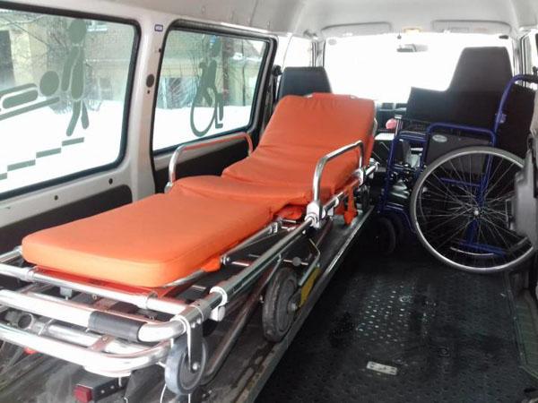 Услуги перевозка лежачих больных в Коломне